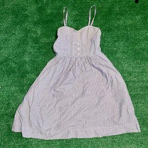 American Eagle Women's Striped Seersucker Dress 2